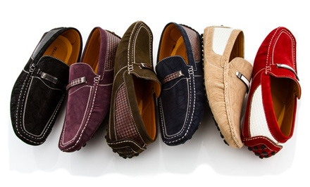 Franco Vanucci Men's Driving Moccasins