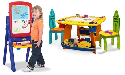Crayola Table and Easel Sets from $45.99–$99.99