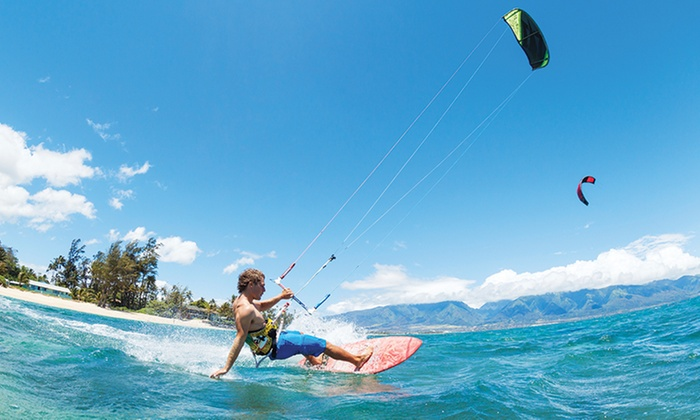 MACkite Kiteboarding - Grand Haven: 90-Minute Intro to Kiteboarding Ground School Lesson for One or Two at MACkite Kiteboarding (Up to 55% Off)