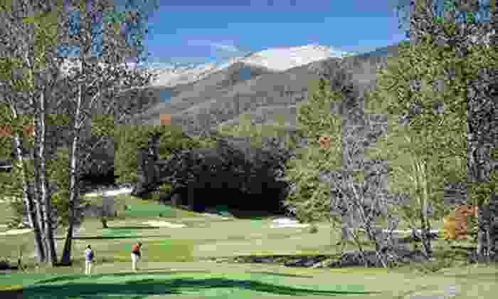 Mount Mitchell Golf Resort - South Toe: 18-Hole Round of Golf Including Cart Monday–Thursday or Friday–Sunday at Mount Mitchell Golf Resort (Up to Half Off)
