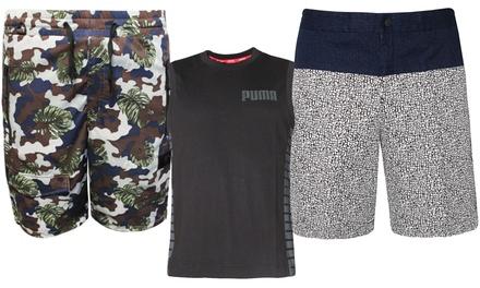 Camiseta o pantalón corto deportivos Puma