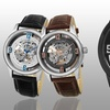 Stührling Original Men's Skeletonized Automatic Watch