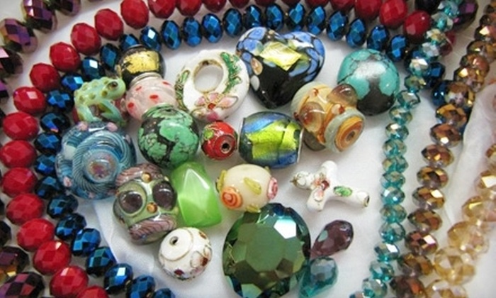 Planet Bead - Southeast Hillsboro: Private Class with Wine and Cheese for Six or $25 for $50 Worth of Classes at Planet Bead in Hillsboro (Up to Half Off)