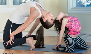 Zen Family Yoga: Four Weeks of Unlimited Yoga Classes at Zen Family Yoga (49% Off)
