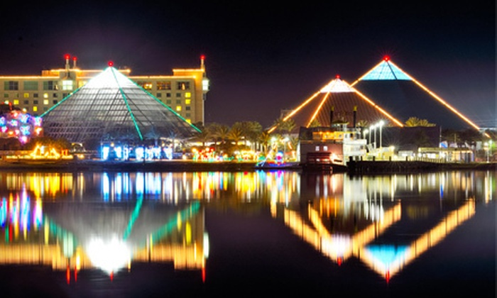 Moody Gardens - Galveston: Festival of Lights and Aquarium Visit for Two, Four, or Six at Moody Gardens (Up to 60% Off)