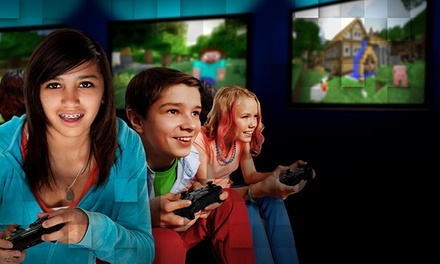 Admission for One, Two, or Four to a Kids' Day Out - Minecraft Gaming Event at SimCave (Up to 52% Off)