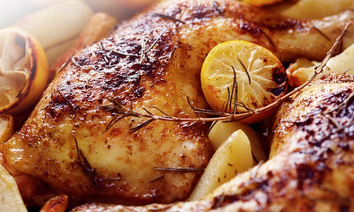 Chick 'n Chop On The Grill - Silver Lakes: Grilled Chicken, Pitas, Mediterranean Food, and Drinks for at Chick 'n Chop On The Grill (Up to $20 Off)