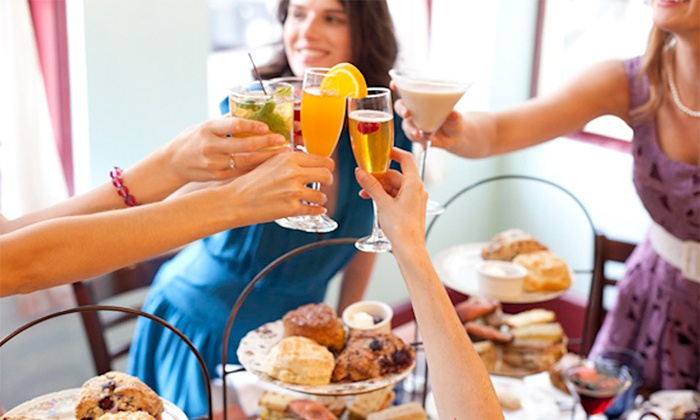 Alice's Tea Cup - Upper East Side: $25 for Two Drinks and a $10 Credit for Sweet Treats at Alice's Tea Cup ($38 Value)