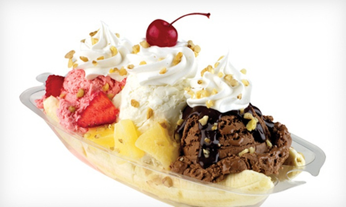 Marble Slab Creamery - Multiple Locations: Ice-Cream Treats at Marble Slab Creamery (Half Off). Three Options Available.
