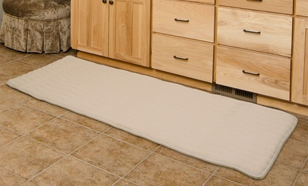 Lavish Home Extra-Long Memory-Foam Bath Rug
