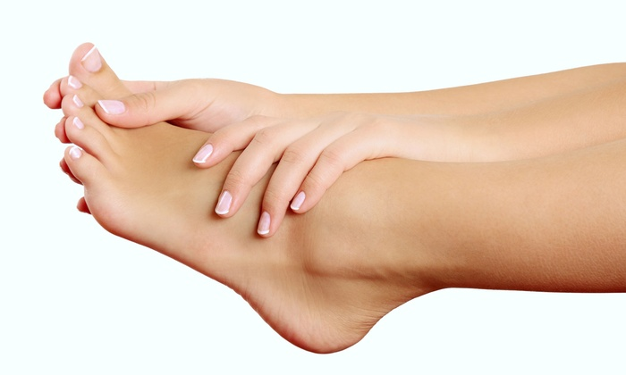 Salon Greco - Suwanee: Classic Mani-Pedi or Red Carpet Facial and Foot Exfoliation at Salon Greco (Up to 68% Off)