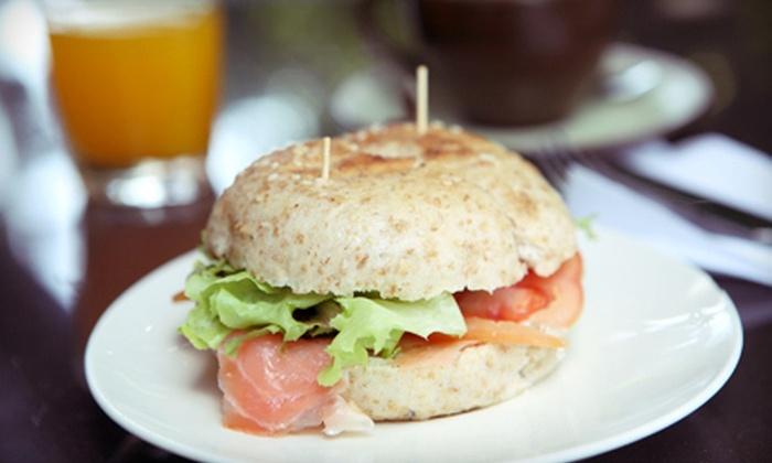 Bagel Nosh - Scottsdale: Bagels and Bagel Sandwiches at Bagel Nosh Scottsdale (Up to 57% Off). Three Options Available.