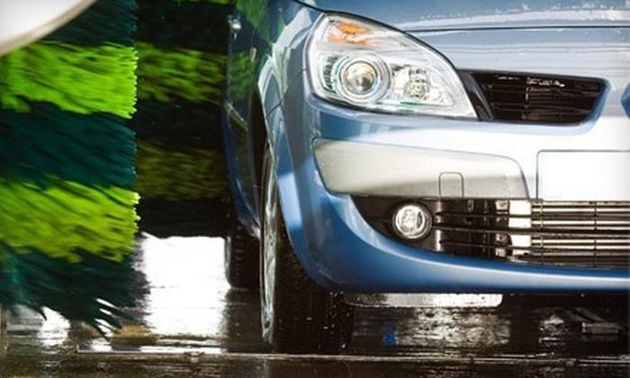 Homestead Car Wash 'N Gas - Santa Clara: Three or Five Express Car Washes with Paint Protectant at Homestead Car Wash 'N Gas (Up to Half Off)