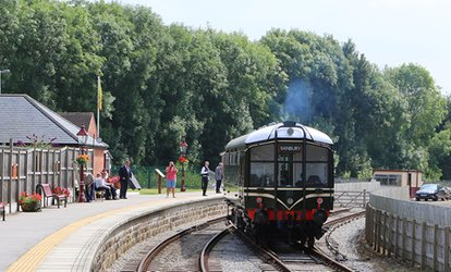 image for One-Day Peak District Train Tour for One, Two or a Family of Five on the Ecclesbourne Valley Railway (Up to 43% Off)