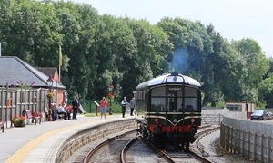 Ecclesbourne Valley Railway: One-Day Peak District Train Tour for One, Two or a Family of Five on the Ecclesbourne Valley Railway (Up to 62% Off)