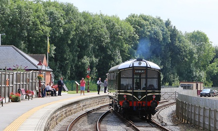 OneDay Peak District Train Tour for One, Two or a Family of Five on the Ecclesbourne Valley Railway