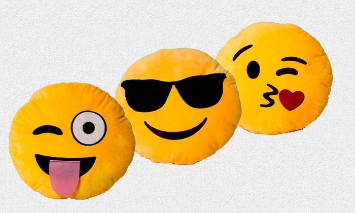 Cuscini Emoticon.Cuscino Con Emoticon Groupon Goods