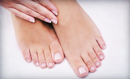 $299 for Laser Nail-Fungus Removal on Both Feet or Hands at The Laser Nail Clinic ($995 Value)
