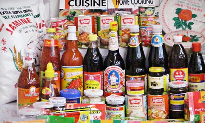 Hana Asian Market - Hana Asian Market: $11 for $21 Worth of Asian Groceries at Hana Asian Market