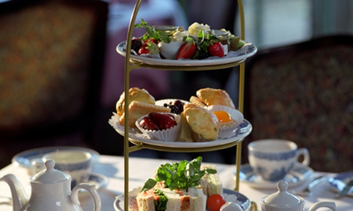 Riverside Brasserie - Cambridge: Spa and Champagne Afternoon Tea For Two or Four from £35 at The Doubletree by Hilton Cambridge (55% Off)