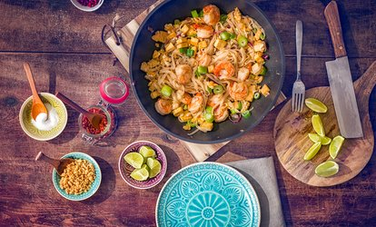 image for Two-Course Thai Meal with Rice Sides for Two or Four at Mi Thai (Up to 42% Off)