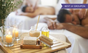 Massage Spa & Beyond: Individual or Couples Spa and Massage Package at Massage Spa & Beyond (Up to 72% Off). Three Options Available.