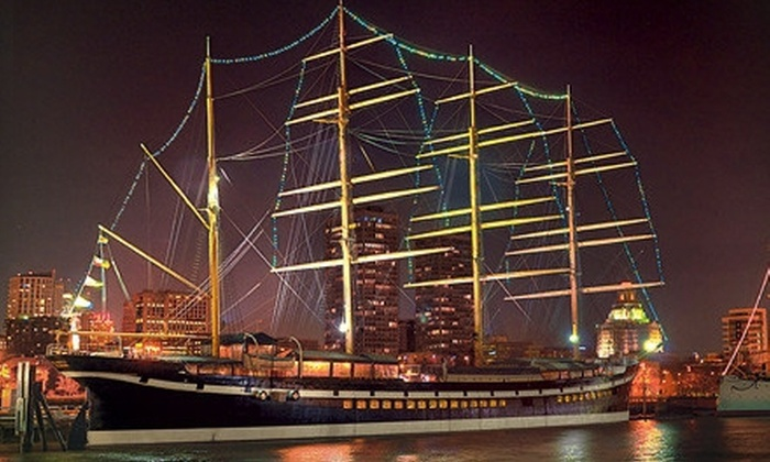 Moshulu - Penn's Landing: $25 for $50 Worth of Contemporary American Dinner Cuisine for Two or More at Moshulu