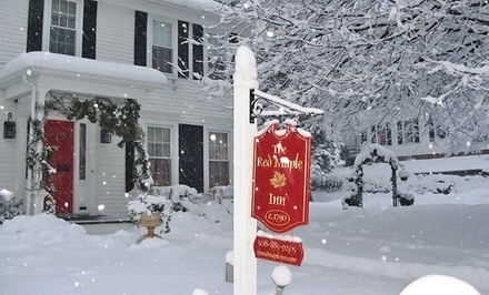 Groupon Deal: 1- or 2-Night Stay for Two at The Red Maple Inn in Spencer, MA. Combine Up to 4 Nights.