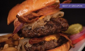 BEER WORKS: $25 for $40 Worth of Hearty American Food at BEER WORKS