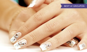 Salon Palomo & Day Spa: $27 for a Deluxe Manicure and Deluxe Pedicure at Salon Palomo & Day Spa ($70 Value)