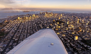 Fly Bay Area: Intro Flight with Digital Photo for One Pilot and One Optional Passenger from Fly Bay Area (50% Off)