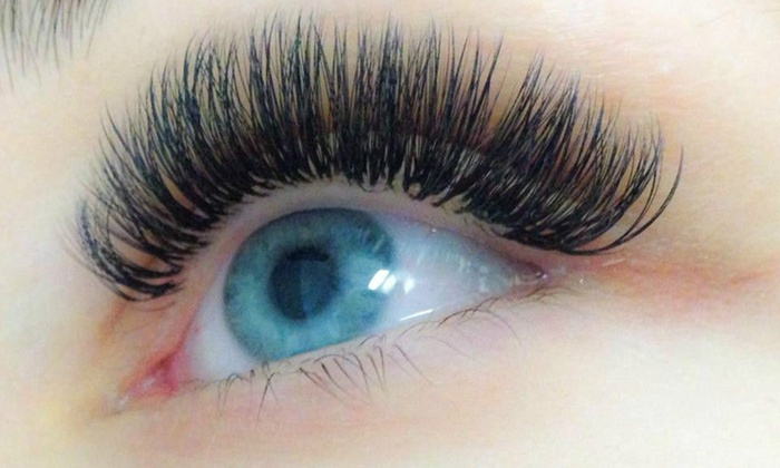 Miami Lash - Brickell: Full Set of Eyelash Extensions at miami lash (60% Off)