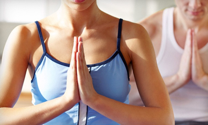 Larry North Fitness - Downtown: 10 or 20 Yoga  Classes, or 2 Months of Unlimited Fitness Classes at Larry North (Up to 86% Off)