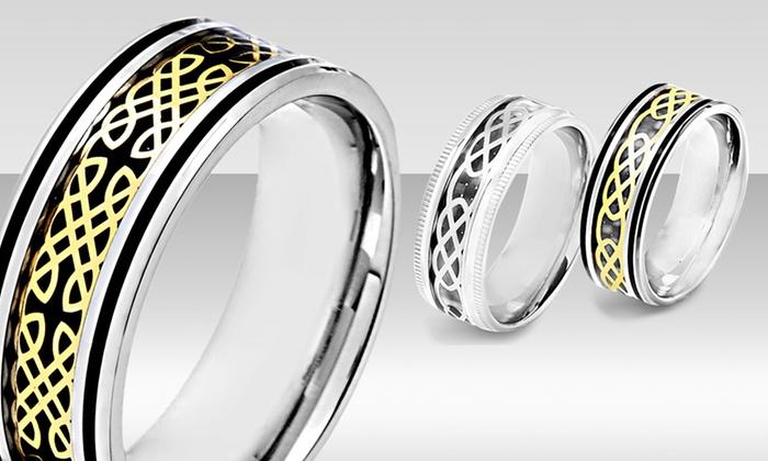 Men's Stainless Steel Celtic Design Rings: $19.99 for a Men's Stainless Steel Celtic Design Rings ($59.99 List Price). Multiple Styles. Free Shipping and Returns.