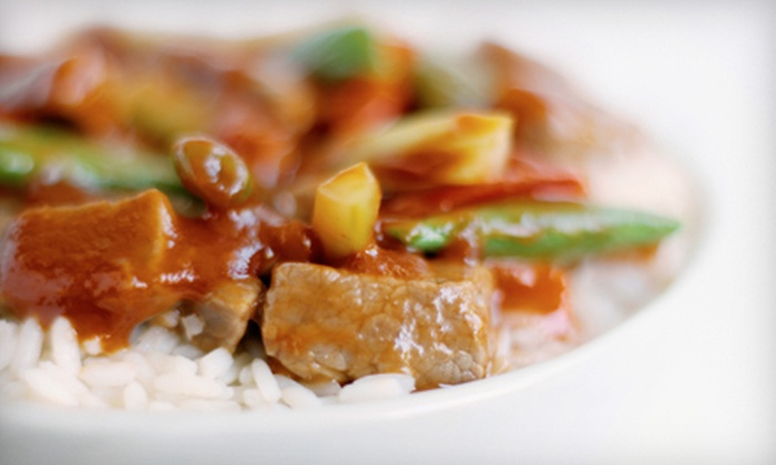 Fusion Taste - Arlington Center: Chinese and Japanese Food at Fusion Taste (Half Off). Two Options Available.