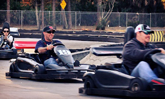Speed Park Motorsports - International Speedway Blvd : One or Two All-Day Wristbands with Dragster Rides and Arcade Cards at Speed Park Motorsports (Up to 55% Off)
