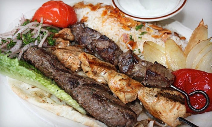 Byblos Cafe & Grill - Multiple Locations: $10 Worth of Lebanese Food