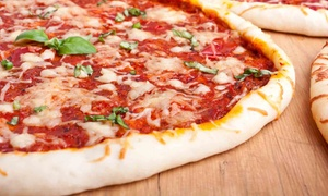 Pizza Pipeline: $17 for $30 Worth of Pizza at Pizza Pipeline in Eugene or Corvallis