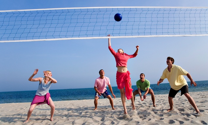 Thunder Beach Sand Volleyball - Multiple Locations: $99 for Nine-Week Coed Volleyball League at Thunder Beach Sand Volleyball ($240 Value)