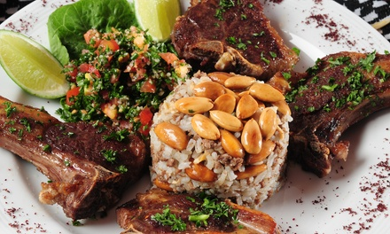 Up to a 33% Off Middle Eastern All-You-Can-Eat Brunch or Dinner for Two at Zaatar