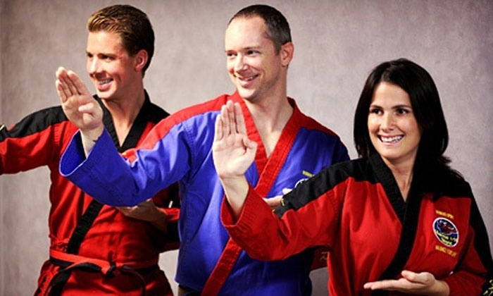 Kickers Martial Arts World - Ashburn: 5 or 10 Martial-Arts Classes at Kickers Martial Arts World (Up to 75% Off)
