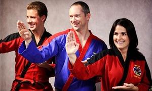 Kickers Martial Arts World: 5 or 10 Martial-Arts Classes at Kickers Martial Arts World (Up to 83% Off)