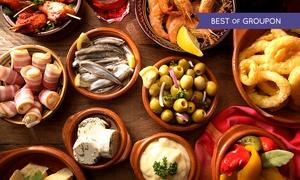 Besitos Stuttgart: Große Tapas-Auswahl inkl. Dessert für zwei oder vier Personen im Restaurant Besitos Stuttgart (bis zu 39% sparen*)