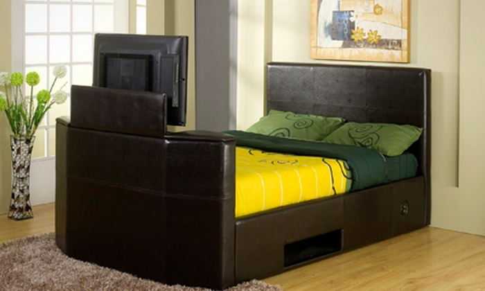 King Size TV Bed Frame