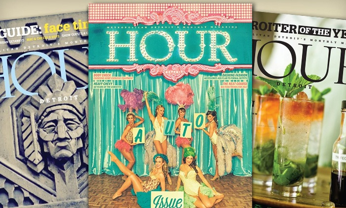 "Hour Detroit Magazine: One-Year or Two-Year Subscription to ""Hour Detroit"" Magazine (Up to 47% Off)"