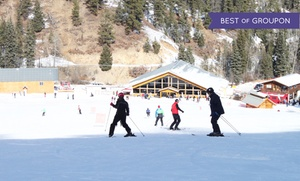 Red River Ski & Summer Area: Lift Ticket with Ski or Snowboard Rental at Red River Ski & Summer Area (Up to 34% Off). Three Options Available.