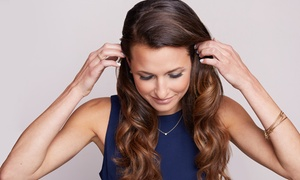 Sitting Pretty Salon: Scalp Treatment, Blowout, and Style with Optional Haircut at Sitting Pretty Salon (Up to 59% Off)