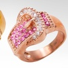 $9.99 for a Crystal Buckle Ring
