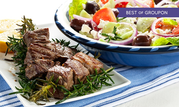 The Olive Tree Greek Restaurant HO - Olive Tree Greek Restaurant: £23 Towards Greek Food For Two for £9 at The Olive Tree (Up to 61% Off)