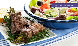 The Olive Tree Greek Restaurant HO: £23 Towards Greek Food For Two for £9 at The Olive Tree (Up to 61% Off)